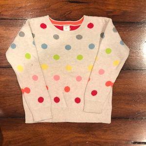 Gap Polka Dot Sweater | Rainbow- Multi Color